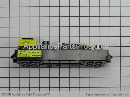 GE Oven Control ERC3B WB27T10348 from AppliancePartsPros.com