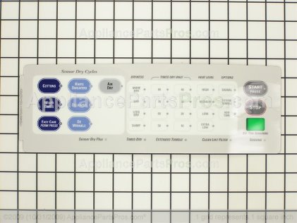 GE Overlay Asm WE19M1366 from AppliancePartsPros.com