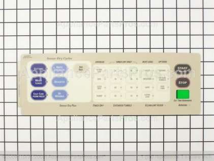 GE Overlay Asm WE19M1367 from AppliancePartsPros.com
