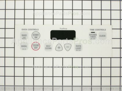 GE Overlay WB27K10130 from AppliancePartsPros.com