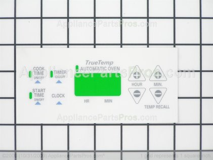 GE Overlay (wh) WB27K10014 from AppliancePartsPros.com