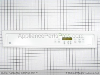 GE Panel Cntl Asm (ge-Wht) WB36T10398 from AppliancePartsPros.com