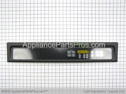 GE Panel Cntl Asm (ge-Blk) WB36T10400 from AppliancePartsPros.com