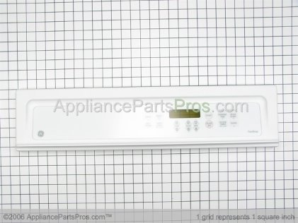 GE Panel Cntl Asm (wht) WB36T10513 from AppliancePartsPros.com