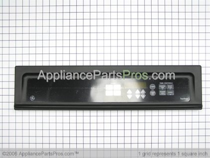 GE Panel Cntl Asm (blk) WB36T10514 from AppliancePartsPros.com