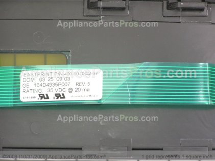 GE Panel Cntl Asm WB36T10559 from AppliancePartsPros.com