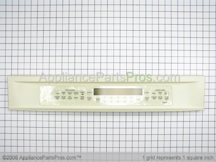 GE Panel Control Assembly (prf-Ad) WB36T10206 from AppliancePartsPros.com