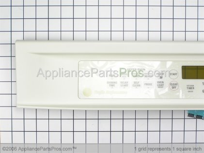 GE Panel Control Assembly (prf-Bqt) WB36T10312 from AppliancePartsPros.com