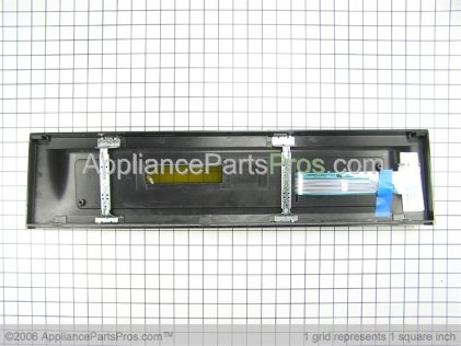 GE Panel Control Assembly (blk) WB36T10322 from AppliancePartsPros.com