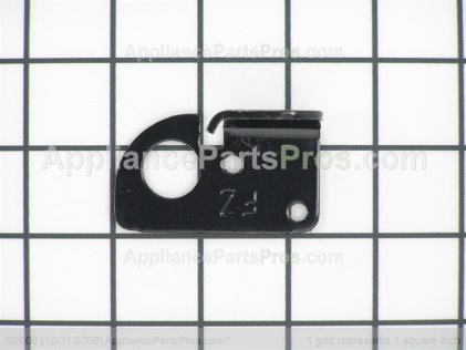 GE Freezer Door Stop Plate WR02X11466 from AppliancePartsPros.com