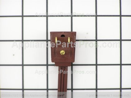 GE Power Cord Assembly WR23X10300 from AppliancePartsPros.com