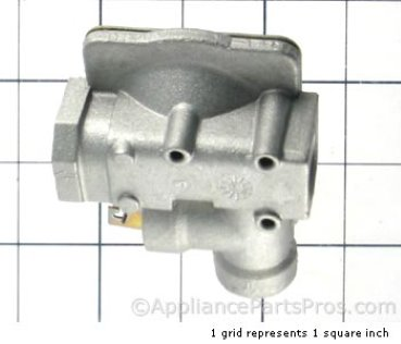 GE Pres.regulator WB19K16 from AppliancePartsPros.com