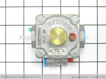 GE Pressure Regulator WB19K28 from AppliancePartsPros.com