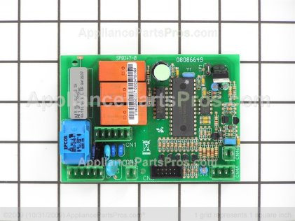 GE Printed Circuit Board WB27X10553 from AppliancePartsPros.com