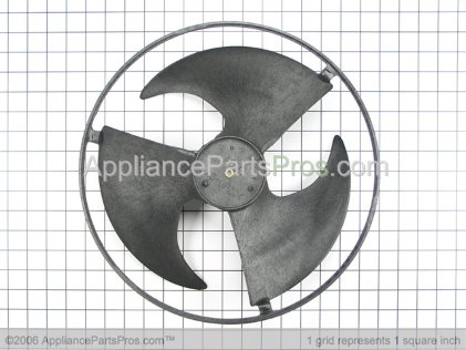 GE Propeller Fan WJ73X10047 from AppliancePartsPros.com