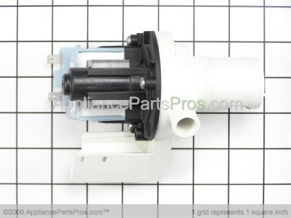 GE Pump Drain Asm WD26X10016 from AppliancePartsPros.com