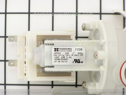 GE Pump Drain Asm WD26X10025 from AppliancePartsPros.com