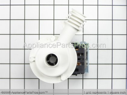 GE Pump Dual WD19X59 from AppliancePartsPros.com