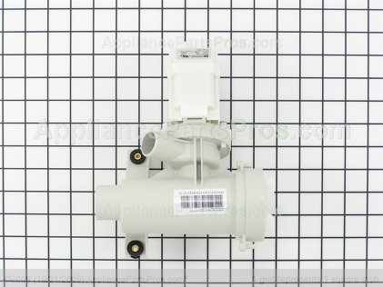 GE Drain Pump Assembly WH23X10028 from AppliancePartsPros.com