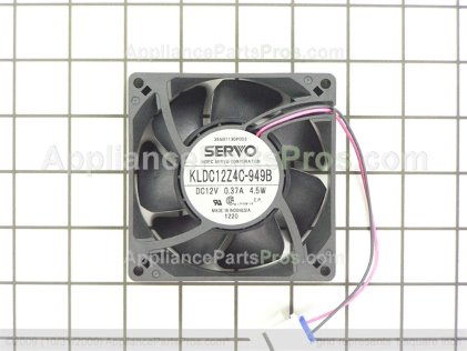 GE Qc Fan & Harness Asm WR17X13035 from AppliancePartsPros.com