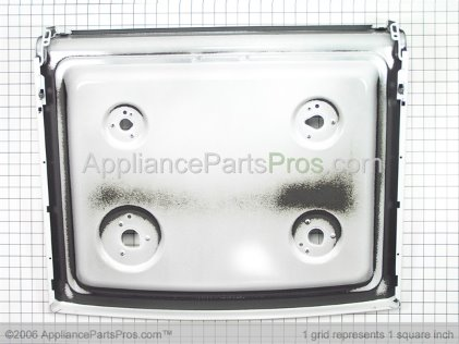 GE Rangetop & Brkt Asm WB62K10091 from AppliancePartsPros.com