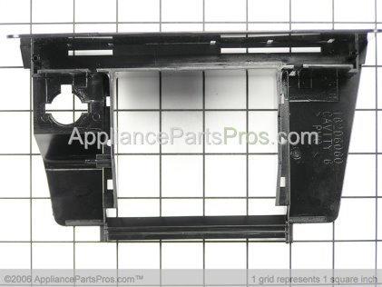GE Recess Dispenser Shield (black) WR17X3139 from AppliancePartsPros.com