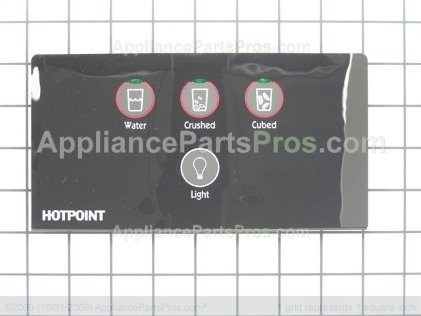 GE Recess Disply 4 Buttons WR55X10445 from AppliancePartsPros.com