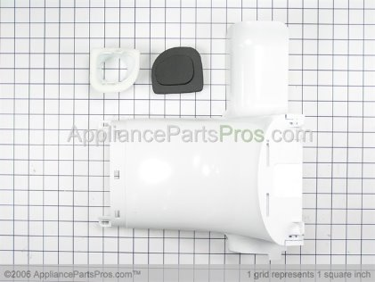 GE Refrigerator Damper Assembly WR49X10091 from AppliancePartsPros.com