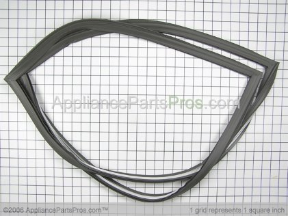 GE Refrigerator Door Gasket WR24X444 from AppliancePartsPros.com