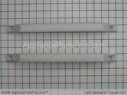 GE Refrigerator Door Handle Kit, White WR12X869 from AppliancePartsPros.com