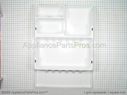 GE Refrigerator Inner Door Panel, White WR77X609 from AppliancePartsPros.com