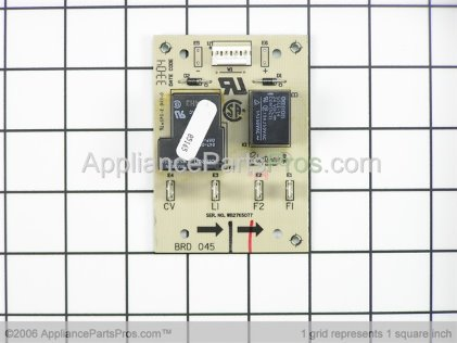 GE Relay Board WB27K5077 from AppliancePartsPros.com