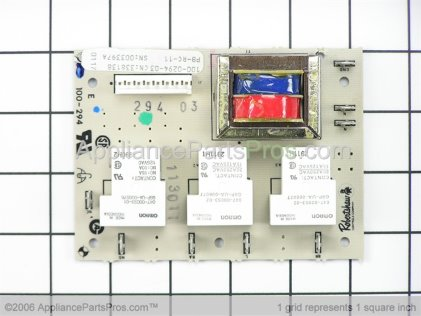 GE Relay Board WB27X519 from AppliancePartsPros.com
