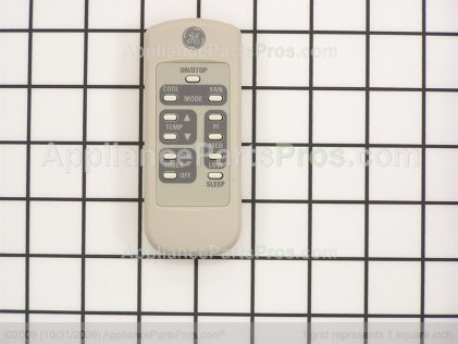 GE Remote Control WJ26X10152 from AppliancePartsPros.com