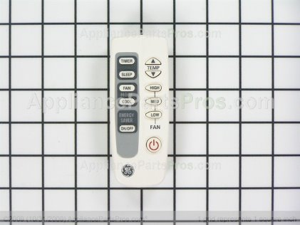 GE Remote Control WJ26X10255 from AppliancePartsPros.com