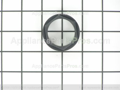 GE Retainer Glass (blk) WB02T10184 from AppliancePartsPros.com
