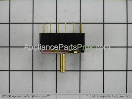 GE Rotary Switch WJ26X10004 from AppliancePartsPros.com