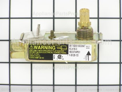 GE Safety Valve Single WB19K10020 from AppliancePartsPros.com