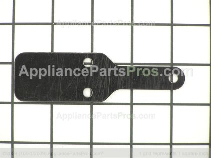 GE Shim Mid Hinge Bk WR02X10316 from AppliancePartsPros.com