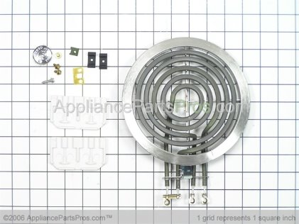 "GE Surface Element, 6"" WB30X356 from AppliancePartsPros.com"