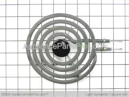 GE Surface Unit 6 WB30X256 from AppliancePartsPros.com