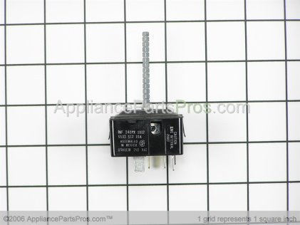 GE Surface Unit Switch Kit WB21X5243 from AppliancePartsPros.com