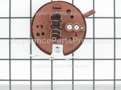 GE Switch Pressure WH12X10139 from AppliancePartsPros.com