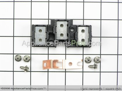 GE Terminal Block Asm WB17T10011 from AppliancePartsPros.com