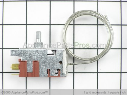 GE Thermostat WR09X10040 from AppliancePartsPros.com