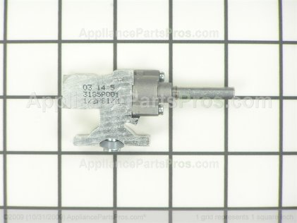 GE Top Burner Gas Valve WB19T10025 from AppliancePartsPros.com