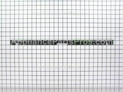 GE Top Trim Bk WD08X10064 from AppliancePartsPros.com