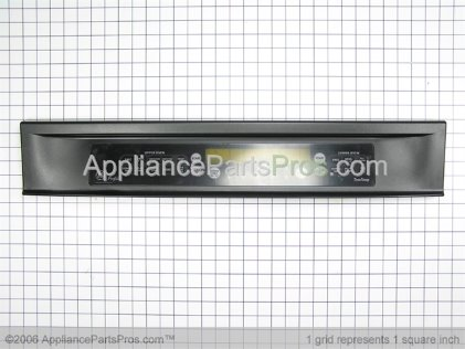 GE Touch Pad and Control Panel Assembly (black) WB36T10505 from AppliancePartsPros.com