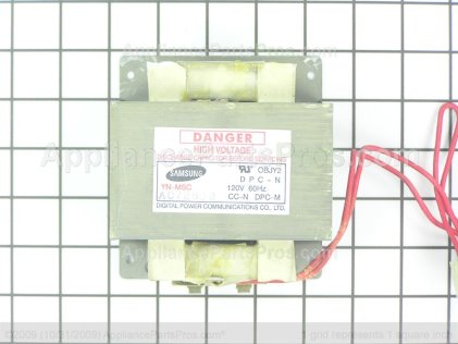 GE Transformer High Voltage WB27X600 from AppliancePartsPros.com