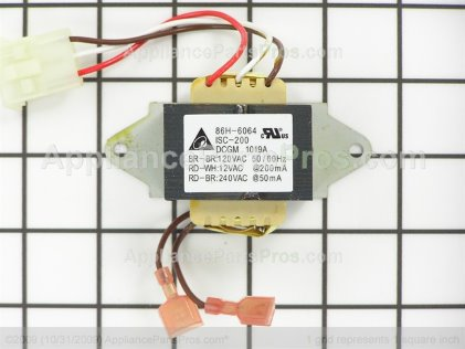 GE Transformer WB27T10856 from AppliancePartsPros.com